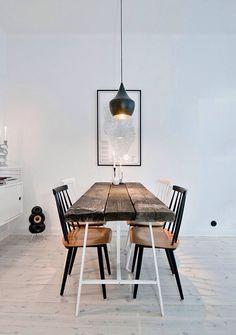 Minimalist dining room