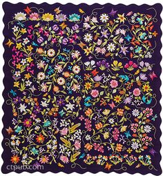 Euphoria Tapestry Quilts: 40 Applique Motifs & 17 Flowering Projects by Deborah Kemball