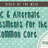 AAC and Alternate Assessments for the Common Core