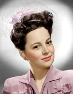 Olivia de Havilland (Color by Brenda J Mills)