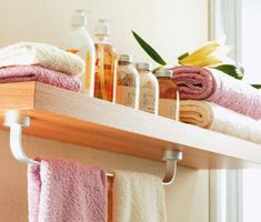pictures of storage ideas for mobil homes - goog idea for towel bar problem