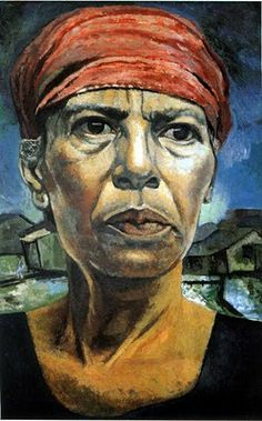 """Rafael Tufiño, Goyita. Rafael Tufiño Figueroa was a Puerto Rican painter, printmaker and cultural figure in Puerto Rico, known locally as the """"Painter of the People""""."""