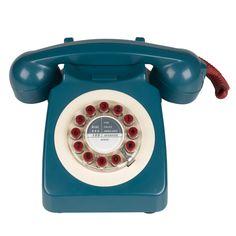 Téléphone fixe vintage 70's modèle 746 british #IWant