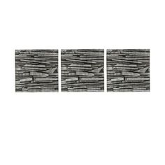 Umbra Tali 12-Inch-by-12-Inch Resin Wall Décor Tiles, Set of 3 by Umbra. $55.74
