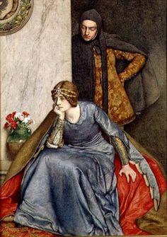 ♔ 'Le Doute' ~ by Sir James Dromgole Linton