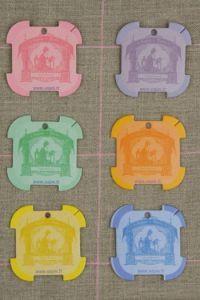 Rouen Thread Cards - Sajou Embroiderer