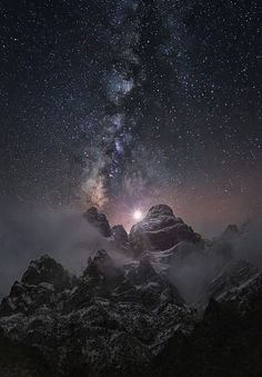 """thenewenlightenmentage: """" At the Edge of the World Image Credit: Chris Kaddas """""""