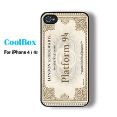 Harry potter iPhone 4 case iPhone 4s case cool hogwarts by CoolBox, $12.99
