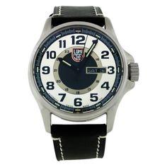 Luminox Men's 1809 Stainless-Steel Analog Bezel Watch