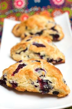 Sugar & Spice by Celeste: Breads Blueberry Scones