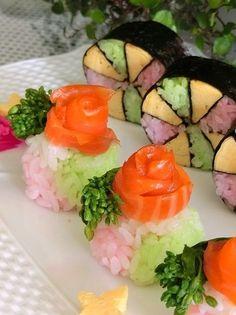 春色の花てまり寿司*ひな祭りやお花見に by すみれ野うさぎ [クックパッド] 簡単おいしいみんなのレシピが230万品