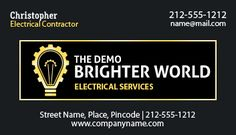 Logo imprinted promotional 2 x 3.5 #electrical #businesscard #magnets square corner – 20 MIL are the new friends of electrical marketers trying to expand their business. ***250 pieces only for $87.50*** #Freeshipping