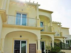 Semi-detached villa with BBQ Semi Detached, Villas, Bbq, Mansions, House Styles, Holiday, Home Decor, Barbecue, Barbacoa