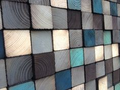 Wood Wall Art  Wood Art Sculpture  Reclaimed Wood by WallWooden