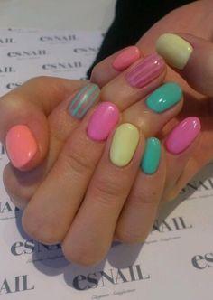 nails | See more nail designs at http://www.nailsss.com/nail-styles-2014/2/ Easter nails!!!!