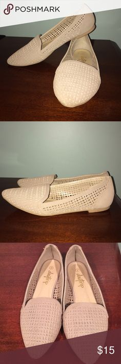 Daytrip flats size 8 Daytrip flats size 8. In pretty good condition with only slight discoloration on the heels. Daytrip Shoes Flats & Loafers