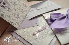 Handmade by Meda: This blog has many different handmade wedding invitations to inspire you. They are all truly beautiful