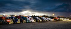 Thunderstorm at Midway Truck Stop in Boone County Missouri by Notley Hawkins Photography. Taken with a Canon EOS 5D Mark III camera and a EF16-35mm f/4L IS USM lens at ƒ/11.0 with a 30 second exposure at ISO 100. Processed with Adobe Lightroom 5.7 and DXO OpticsPro 10.  http://www.notleyhawkins.com/