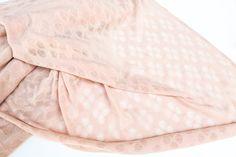 Rare Light Blush Pink Shimmer Designed Open by felinusfabrics