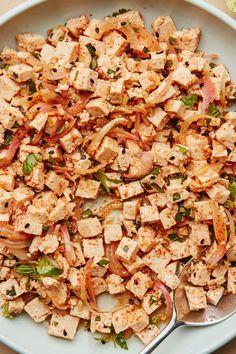 Tofu Recipes, Vegetarian Recipes, Lemongrass Recipes, Gluten Free Soy Sauce, Extra Firm Tofu, Lime Dressing, Lemon Sauce, Fresh Lime Juice, Kitchen Recipes