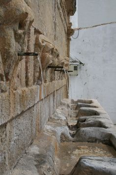 A fountain in Gaucin, Spain. So simple just perfect