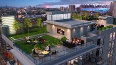 طراحی و اجرا روف گاردن با بینظیر ترین طرح ها و بهترین متریال، در هر نقطه کشور 09123268815-02122217015 #روف_گاردن #طراحی_روف_گاردن #بام_سبز #روف_گاردن #باغ_بام #روف_گاردن_چیست www.vtsland.ir Terrace Garden Design, Rooftop Design, Deck Design, Balcony Garden, House Roof, Pent House, Rooftop Terrace, Rooftop Gardens, Dream House Exterior