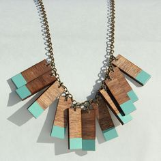 Mint Fringe Necklace | Shop at the Foundary
