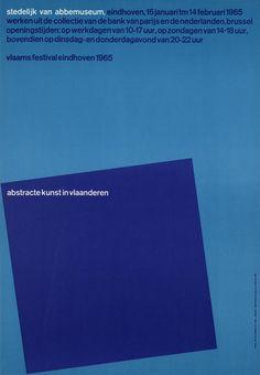 Will Van Sambeek, abstracte kunst in vlaanderen, Stedelijk Van Abbemuseum Eindhoven, 1965