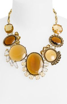 kate spade new york 'orchestra hall' statement necklace