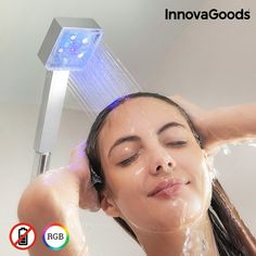 INNOVAGOODS SQUARE ECO LED SHOWER