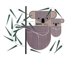 Charley Harper - mom's had this hanging in her house for years and she never realized it was him!
