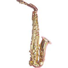 Large Vintage Golden Saxophone Brooch Signed JJ for Jonette Jewelry  --found at www.rubylane.com #vintagebeginshere #under25dollars