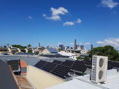 of LG Neon installed at Paddington Hardware Solar Power System, San Francisco Skyline, Opera House, Commercial, Hardware, Neon, Building, Travel, Design