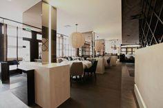Old Fisher brasserie [Anthony Boelaert] #new #interiordesign #lighting / DARK / #project Knokke-Heist BE