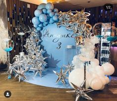 Balloon Wall, Balloon Garland, Balloon Decorations Party, Birthday Decorations, Baby Shower Deco, Balloon Flowers, Party Time, Backdrops, Frozen