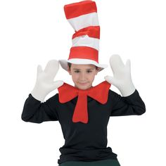 Dr Seuss Cat In The Hat Child Accessory Kit from PBS Kids Shop