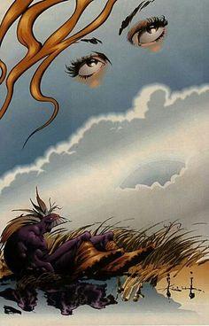 The Outback/The Maxx by Sam Kieth Comic Book Artists, Comic Artist, Comic Books Art, Fantasy Kunst, Fantasy Art, The Maxx, Alternative Comics, Comic Kunst, Free Comics