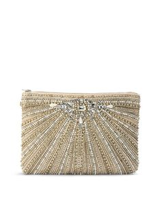 Pretty clutch for holiday parties.
