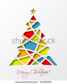 Стоковые вектора и векторный клип-арт Christmas Tree | Shutterstock