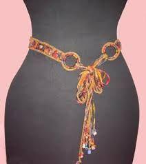 Image result for crochet belt pattern