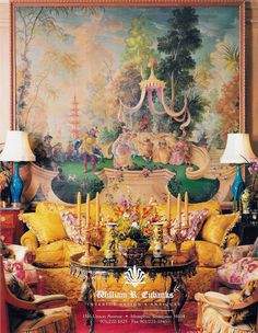 William R. Eubanks » Interior Design and Antiques » Exquisite Spaces » Living Rooms