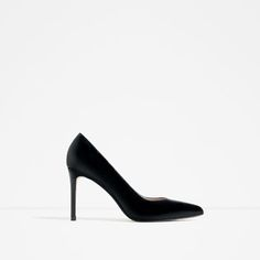 Image 1 of LEATHER HIGH HEEL SHOES from Zara