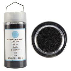 Onyx Martha Stewart Crafts® Fine Glitter, 4.58 oz., large