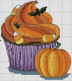 counted cross stitch for beginners Cupcake Cross Stitch, Cute Cross Stitch, Counted Cross Stitch Kits, Cross Stitch Designs, Cross Stitch Patterns, Cross Stitching, Cross Stitch Embroidery, Embroidery Patterns, Hand Embroidery