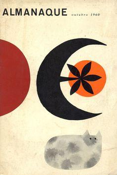 Booklet cover by Sebastião Rodrigues, Art And Illustration, Graphic Design Illustration, Illustrations Posters, Graphic Art, Vintage Graphic, Buch Design, Vintage Book Covers, Wow Art, Arte Pop