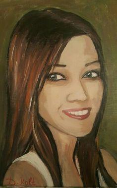 akrylik painding on canvas Painting Art, Mona Lisa, Canvas, Artwork, Tela, Work Of Art, Art Paintings, Toile, Canvases