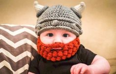 Viking Crochet Helmet and Beard Pattern