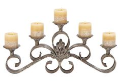 Lovely accent piece, even if ou don't light the candles  :-)