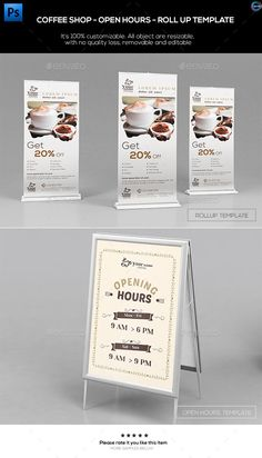 Premium Coffee Flyers  Magazine Ad  Premium Coffee Magazine Ads