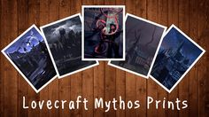 Lovecraft Mythos Art Prints project video thumbnail